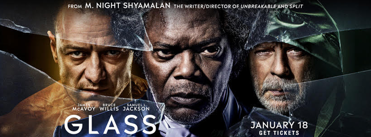 Glass January 18 tickets on sale now