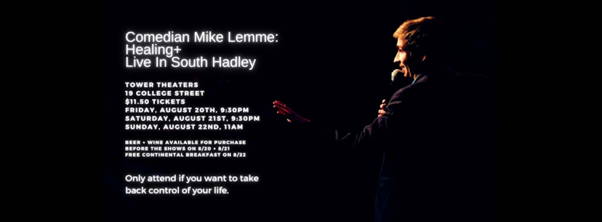 COMEDIAN MIKE LEMME WROTE SORT OF A PLAY. HE SAID IT