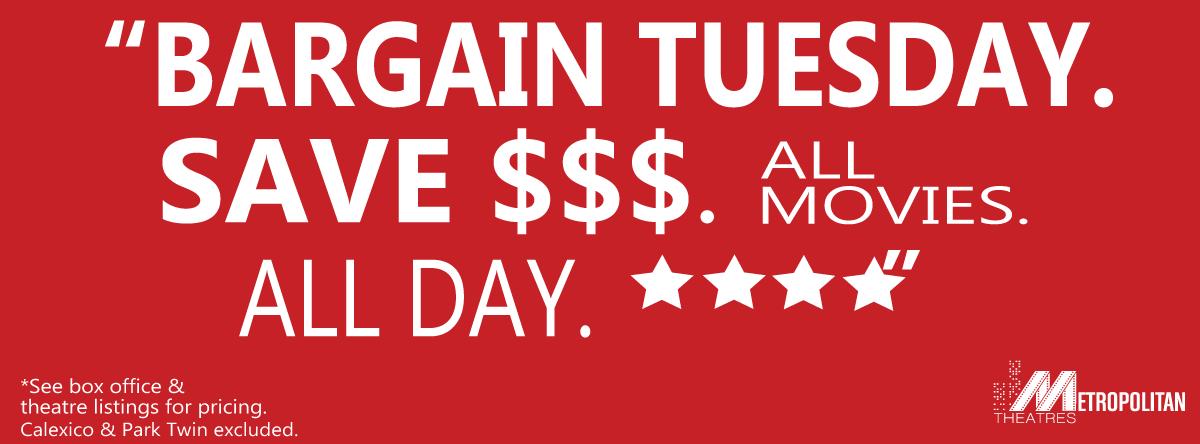 <br>Bargain Tuesdays</br>