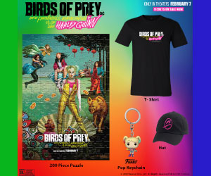 Birds of Prey Sweepstakes