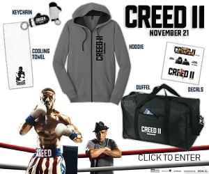 Creed 2 Sweepstakes