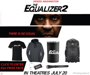Equalizer 2 Sweepstakes