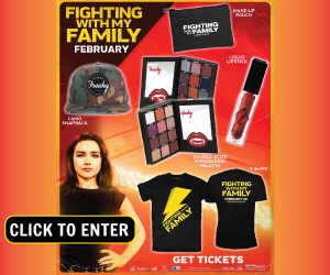Fighting with My Family Sweepstakes