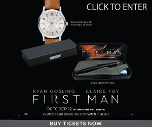 First Man Sweepstakes