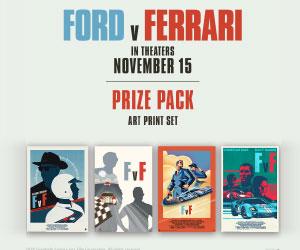 Ford v Ferrari Sweepstakes