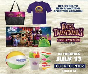 Hotel Transylvania 3 Prize Pack