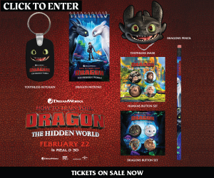 How to Train Your Dragon Sweepstakes
