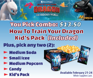 How to Train Your Dragon Concession Special