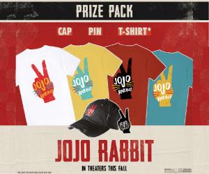 JoJo Rabbit Sweepstakes