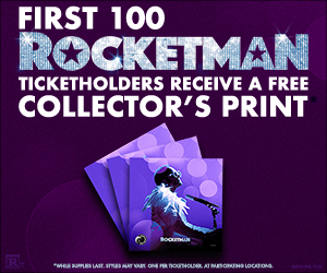 Rocketman Collectors print