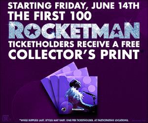 Rocketman Collectors print
