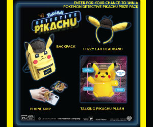 Pokemon Detective Pikachu Sweepstakes