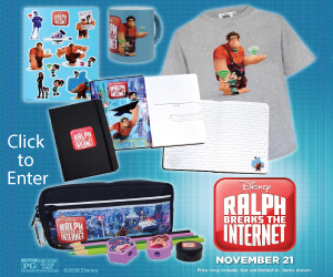 Ralph Breaks the Internet Sweepstakes