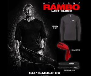 Rambo Last Blood Sweepstakes