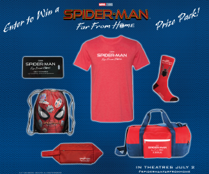 Spider-Man Far From Home Sweepstakes