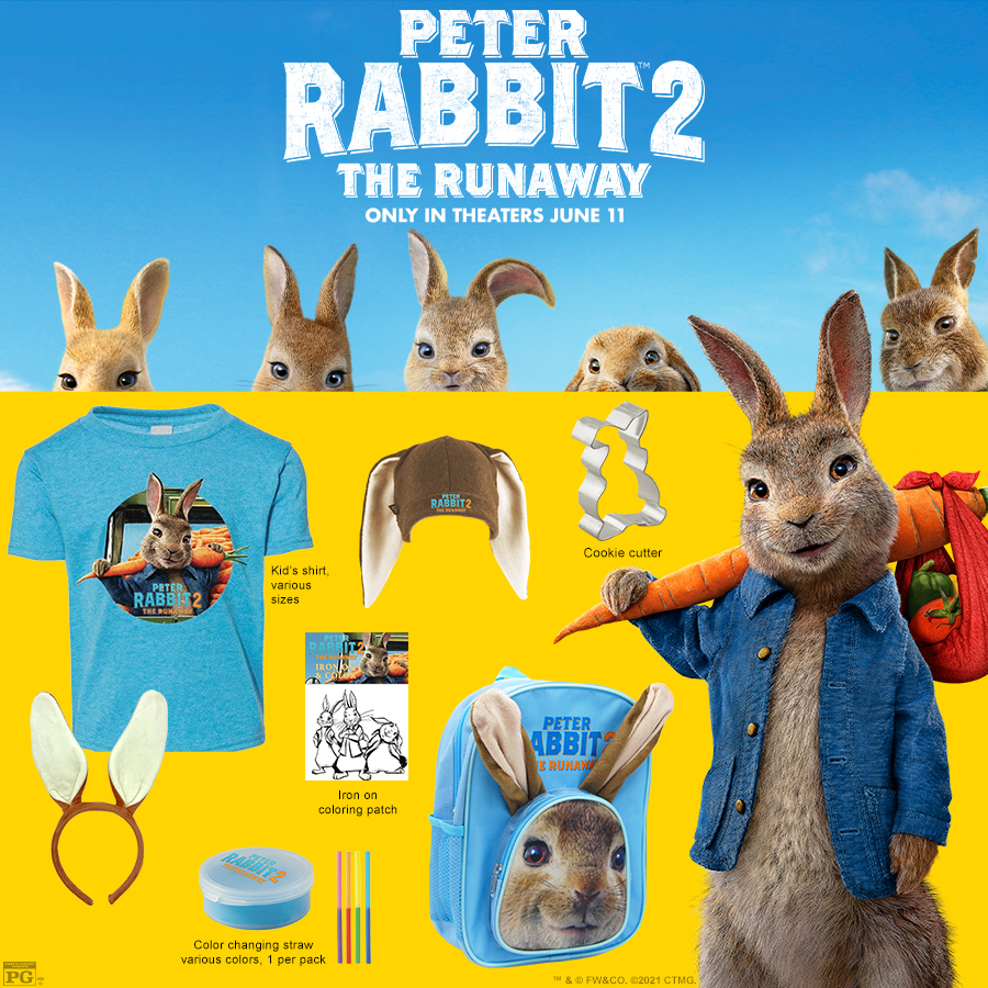 PETER RABBIT 2 Prize Pack