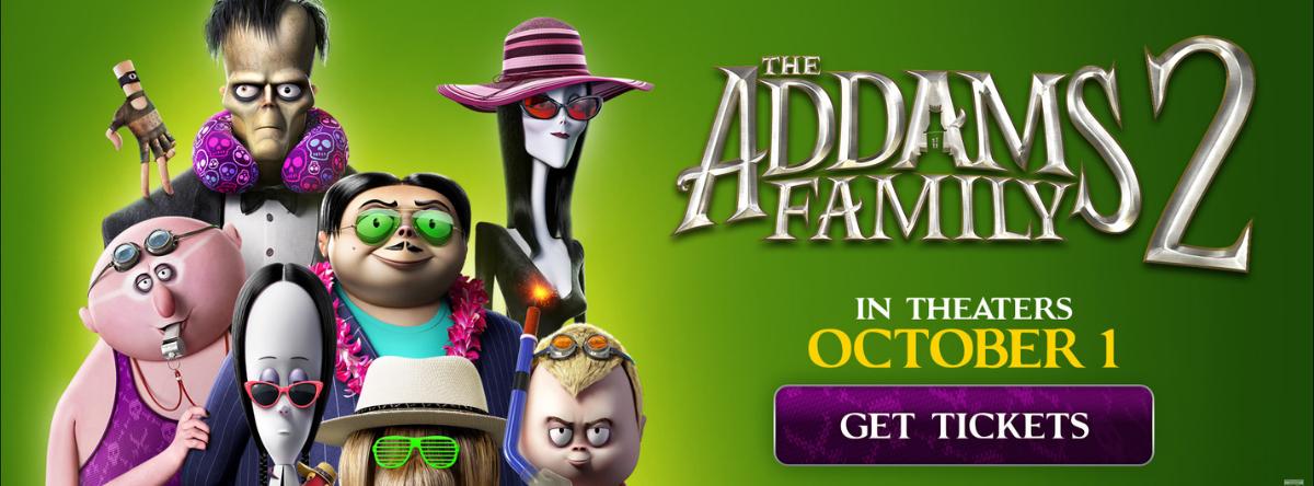 Addams Family 2 Tickets