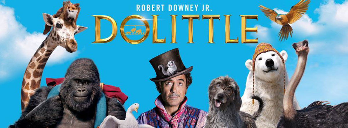 DOLITTLE PLAYING NOW