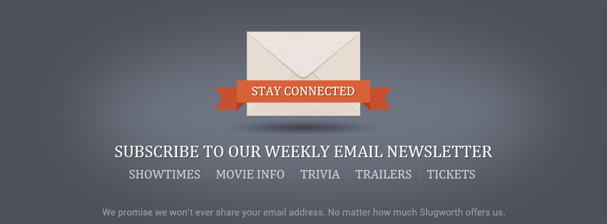 Subscribe to our weekly email!