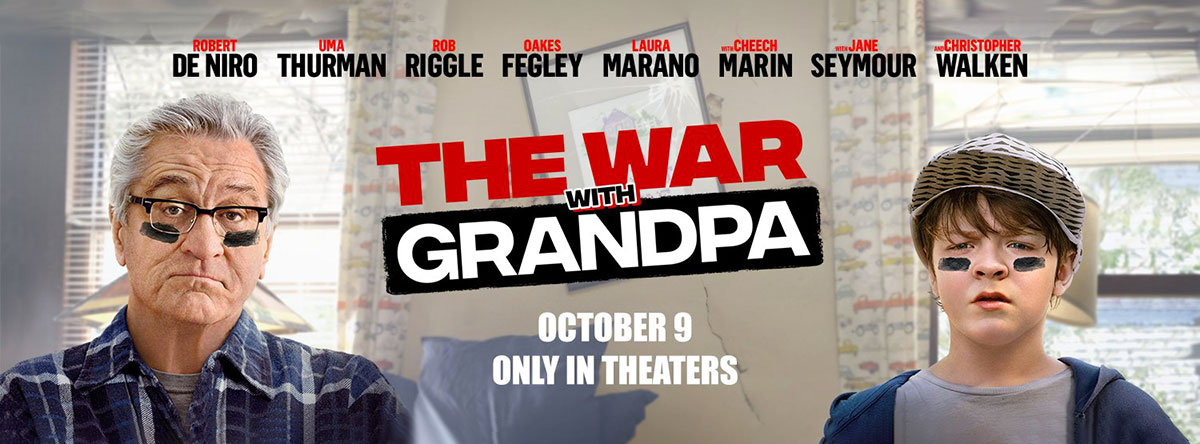 WAR WITH GRANDPA NOW PLAYING