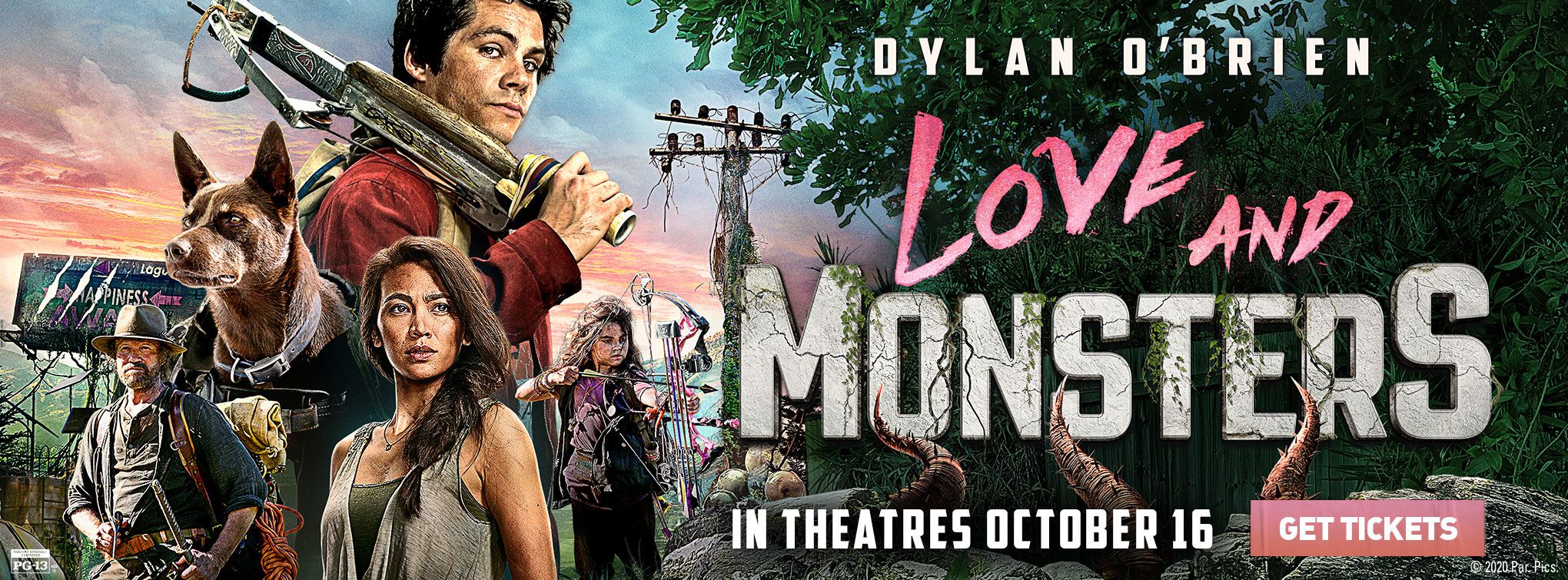 Slider image for Love and Monsters