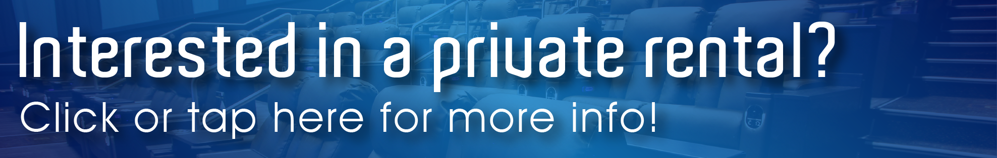 Banner image for private rental information - click here to learn more