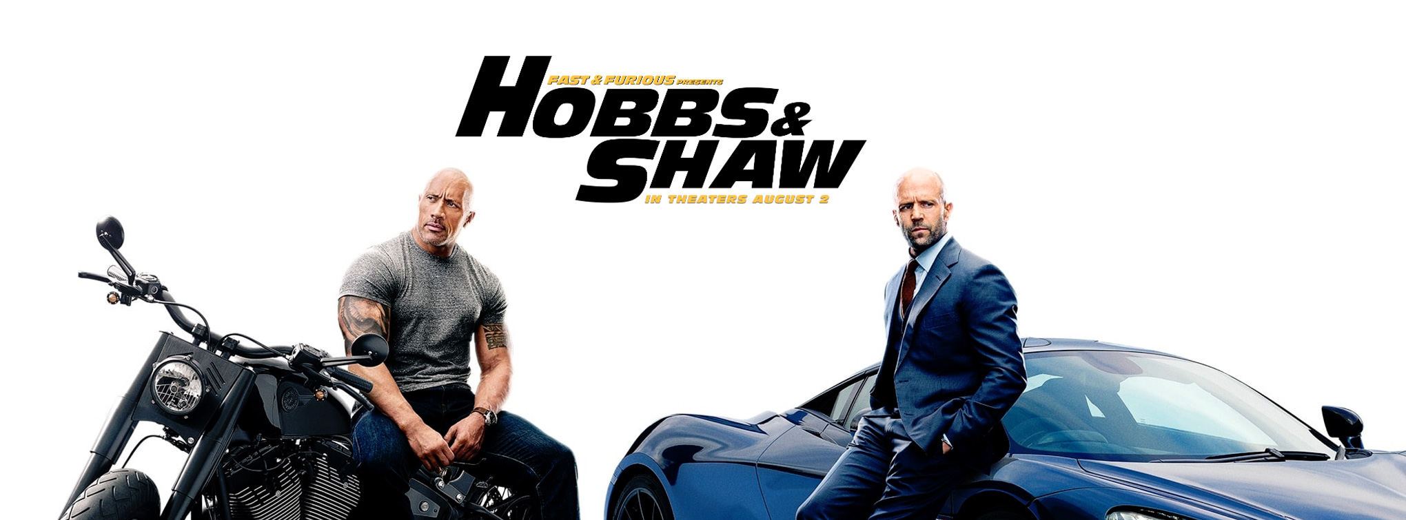 Slider image for Fast & Furious presents Hobbs & Shaw