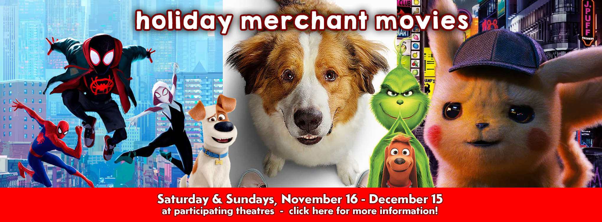 Slider image for Holiday Merchant Movies