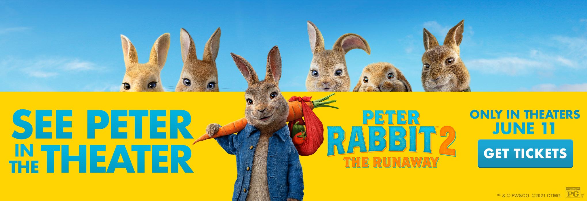 Slider image for Peter Rabbit 2: The Runaway