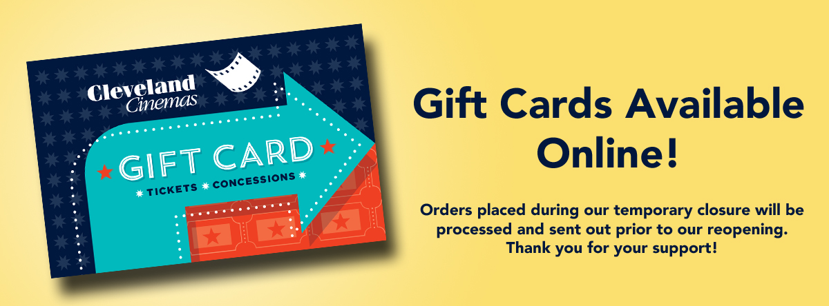 Gift Cards available online