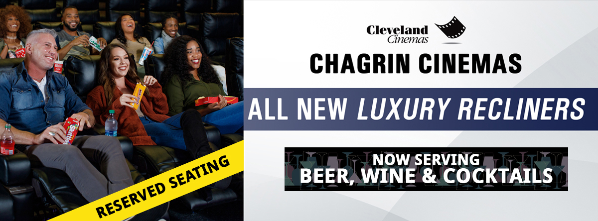 Chagrin Cinemas Luxury Recliners