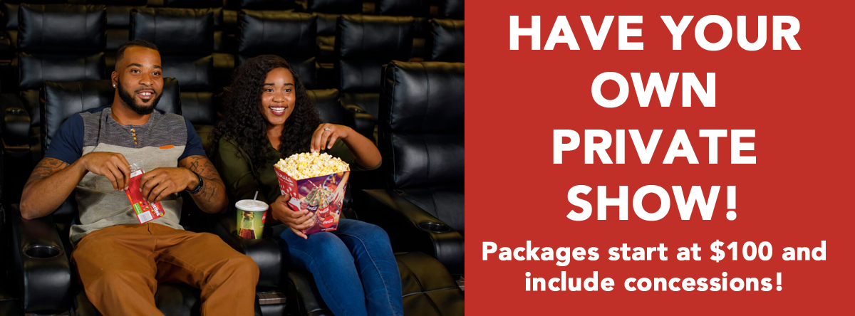 Private Theatre rentals