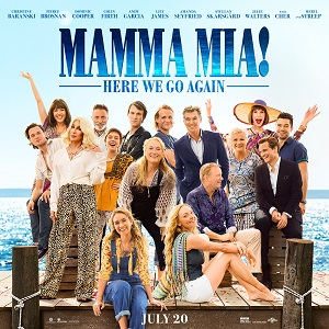Mama Mia Here We Go Again On Sale Now.