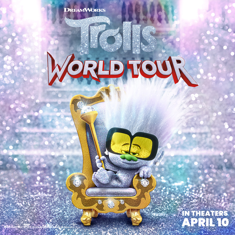 Trolls Now Playing