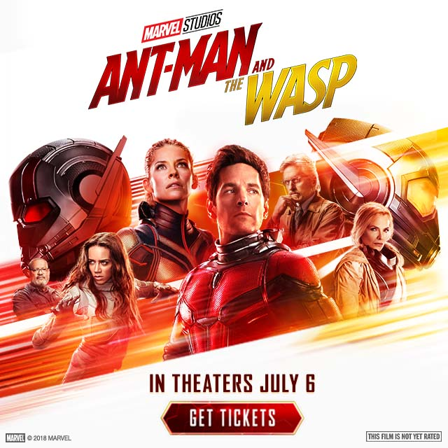 Ant Man and Wasp Now On Sale