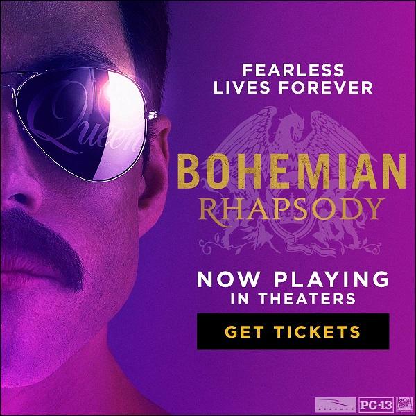 Bohemian Rhapsody now on sale