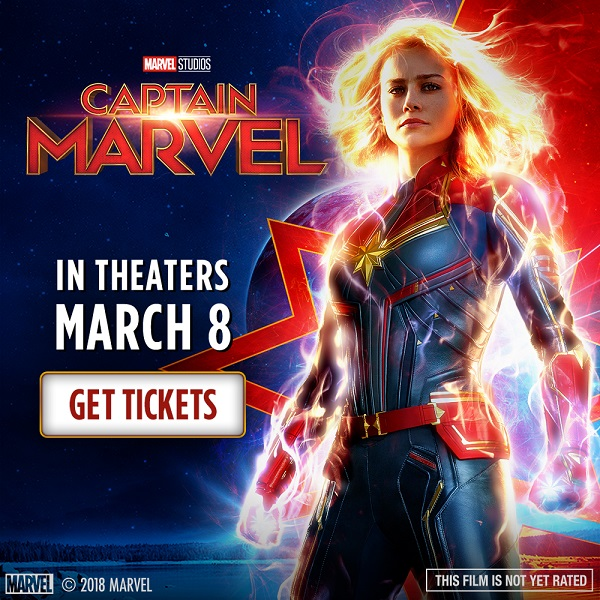 Captain Marvel Now On Sale