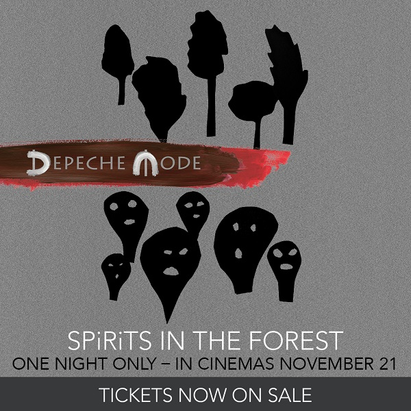 Depeche Mode Spirits in the forest ad