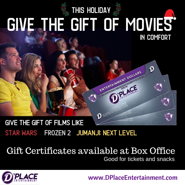 Gift Certs On Sale Now