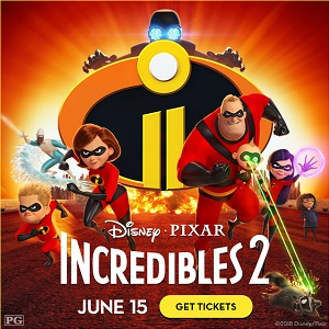THE INCREDIBLES 2 Now on Sale