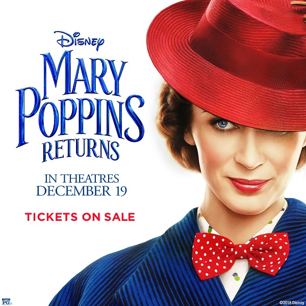 Mary Poppins Returns On sale Now