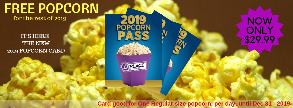 Popcorn Card Now Available