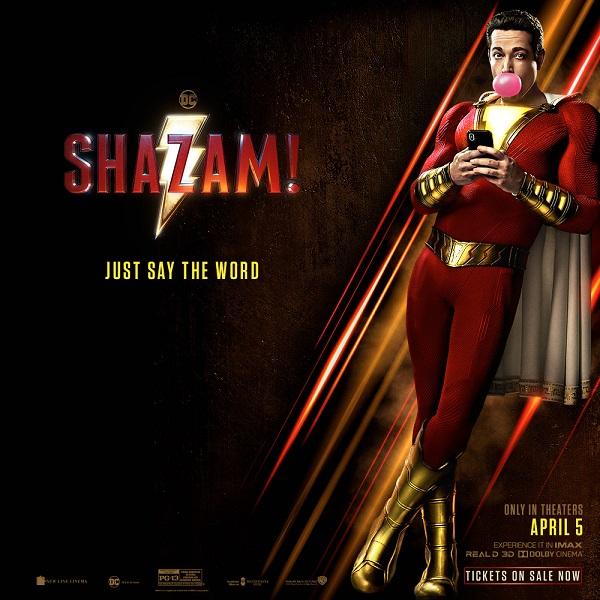 Shazam! Now On Sale