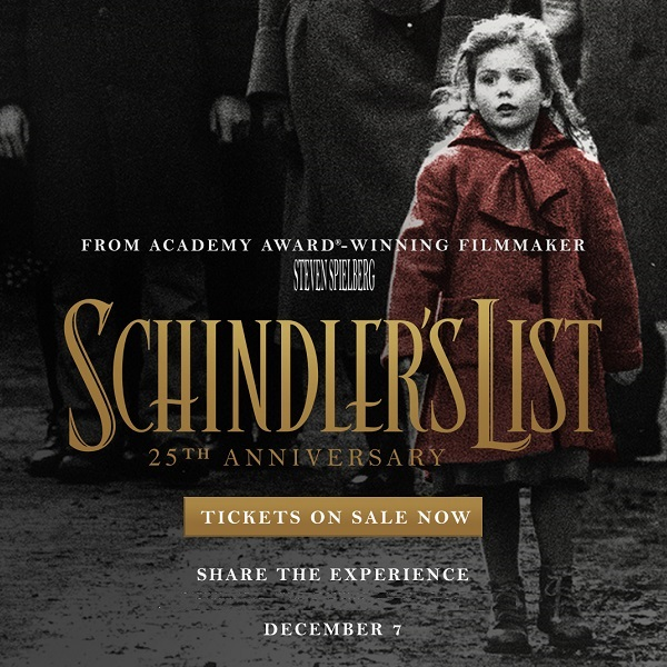 Schindlers List 25th Anniversary