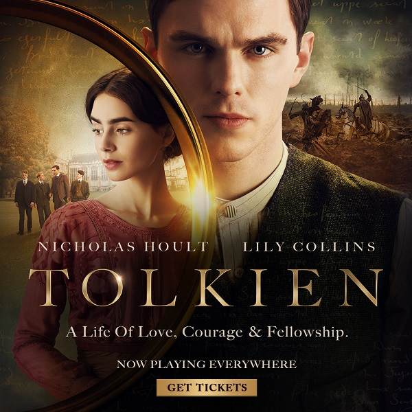 Tolkien Now playing