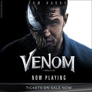Venom On Sale Now