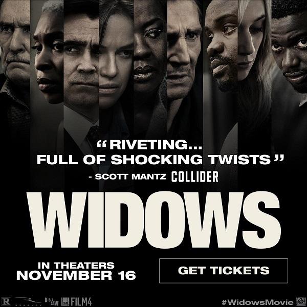 Widows Now On Sale