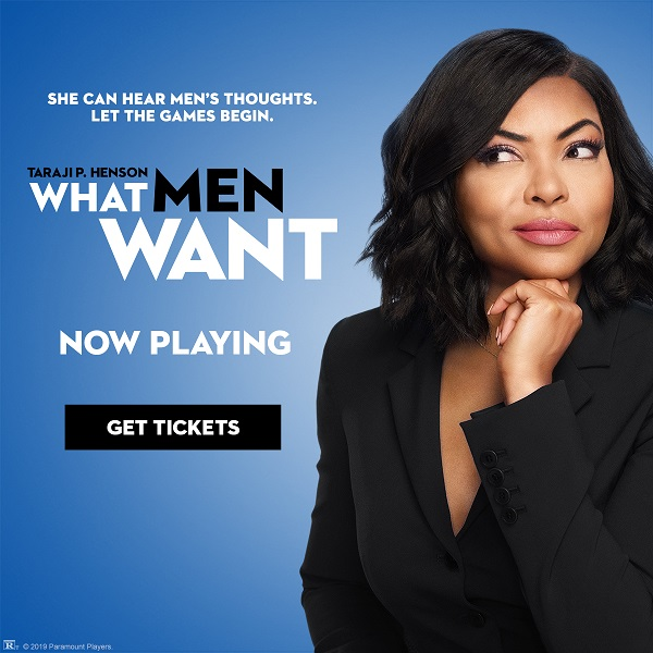What men want - Now On Sale