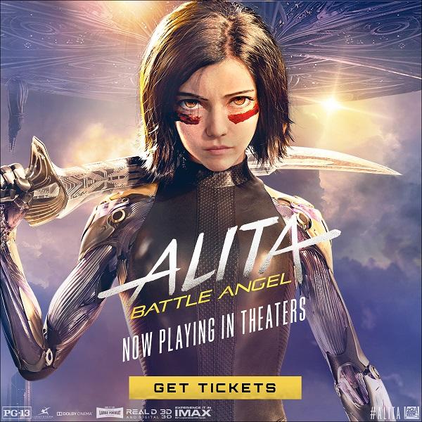 Alita Battle Angel now on sale