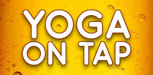 yoga on tap - beer yoga signup